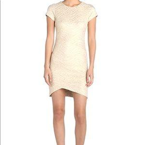 FELICITY & COCO Metallic Textured Sheath Dress